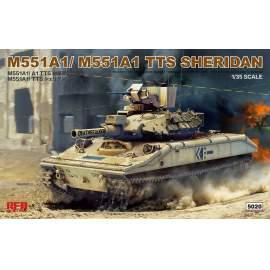 Ryefield model 1:35 M551A1/ A1TTS Sheridan
