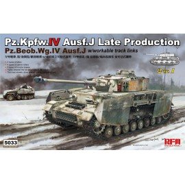 Ryefield model 1:35 Panzer IV Ausf. J late / Pz.Beob.Wg IV Ausf.J 2 in 1