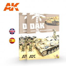 AK Interactive DAK. German AFV in North Africa