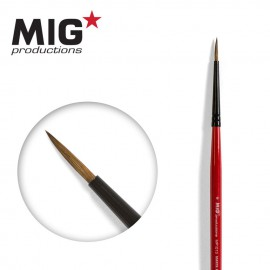 MIG Productions Brush Round 0 (Top quality Marta Kolisnky)