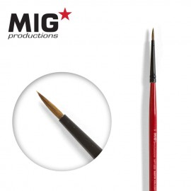 MIG Productions Brush Round 5/0 (Top quality Marta Kolisnky)