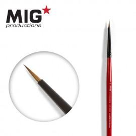MIG Productions Brush Round 6/0 (Top quality Marta Kolisnky)