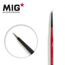 MIG Productions Brush Round 9/0 (Top quality Marta Kolisnky)