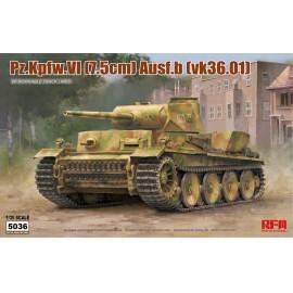 Ryefield model 1:35 Pz.kpfw.VI Ausf.b (vk36.01) w/workable track links