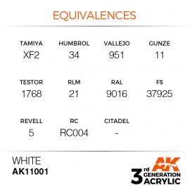 Acrylics 3rd generation White 17ml