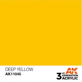 Acrylics 3rd generation Deep Yellow 17ml