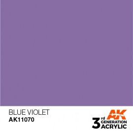 Acrylics 3rd generation Blue Violet 17ml