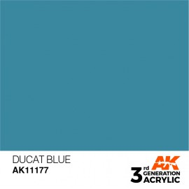 Acrylics 3rd generation Ducat Blue 17ml