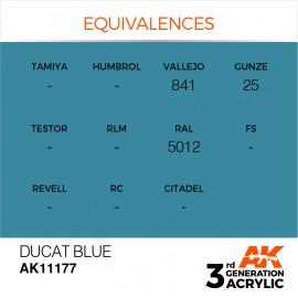 Acrylics 3rd generation Ducat Blue 17ml