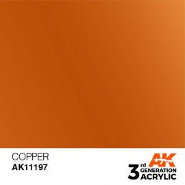 Acrylics 3rd generation Copper 17ml