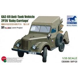 Bronco 1:35 GAZ-69 Anti-Tank Vehicle 2P26 'Baby Carriage'