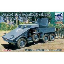 Bronco 1:35 Armored Krupp Protze Kfz.69 with 3.7cm Pak 36 (late version)