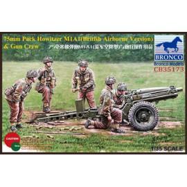 Bronco 1:35 75mm Pack Howitzer M1A1 (British Airborne Version) & Gun Crew