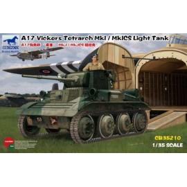Bronco 1:35 A17 VickersTetrarch MkI / MkICS Light Tank