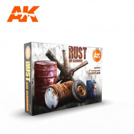 Acrylics 3rd generation RUST SET