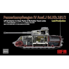 Ryefield model 1:35 Pz. Kpfw. IV Ausf. J Last Production w/full interior