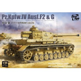 Border Model 1:35 Panzer IV F2&G