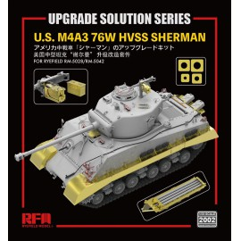 "Ryefield model 1:35 ""The Upgrade solution series"" For 5028 & 5042 M4A3 Sher"