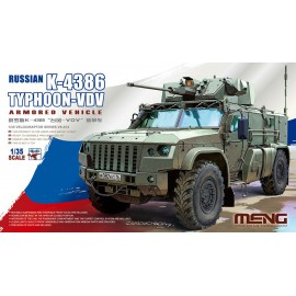 Meng Model 1:35 Russian K-4386 Typhoon-VDV Armored Vehicle