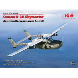 ICM 1:48 Cessna O-2A Skymaster, American Reconnaissance Aircraft