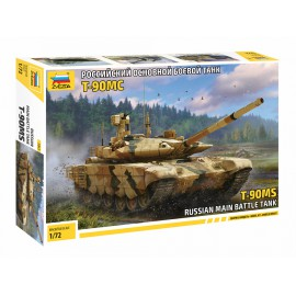 Zvezda 1:72 T-90MS harcjármű makett