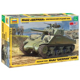 Zvezda 1:35 M4 A2 Sherman