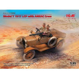 ICM 1:35 Model T 1917 LCP with ANZAC Crew