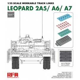Ryefield model 1:35 Workable track links for Leopard 2A5/A6/A7
