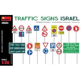 Miniart 1:35 Traffic Signs. Israel